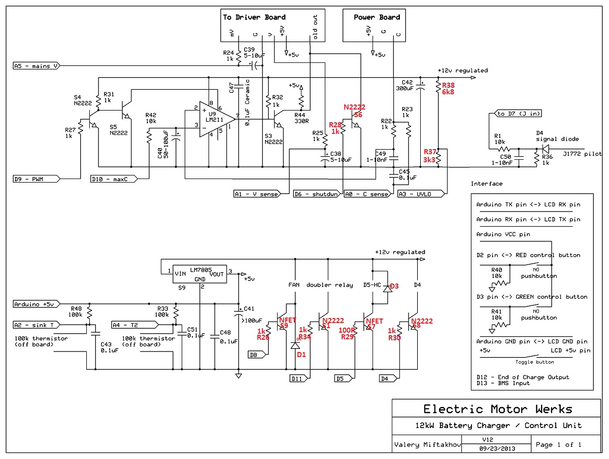 Analyzing, troubleshooting, & fixing EMW 10kW DIY Charger - Page 2