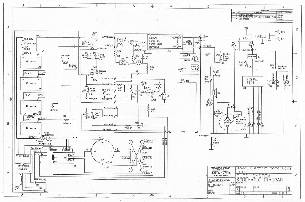 Gem Electric Car Wiring Diagram on Electric Car Wiring Diagram