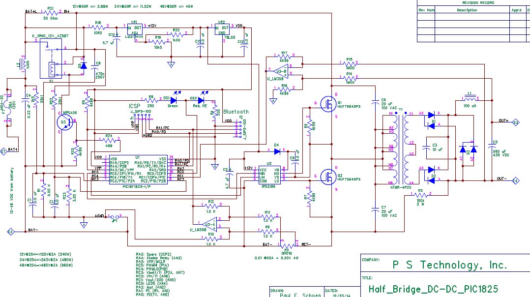 Isolated DC-DC boost converter design - DIY Electric Car