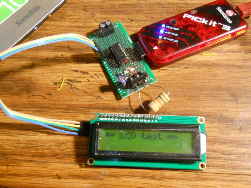 Simplified I2C Interface to LCD Character Display with PCF8574