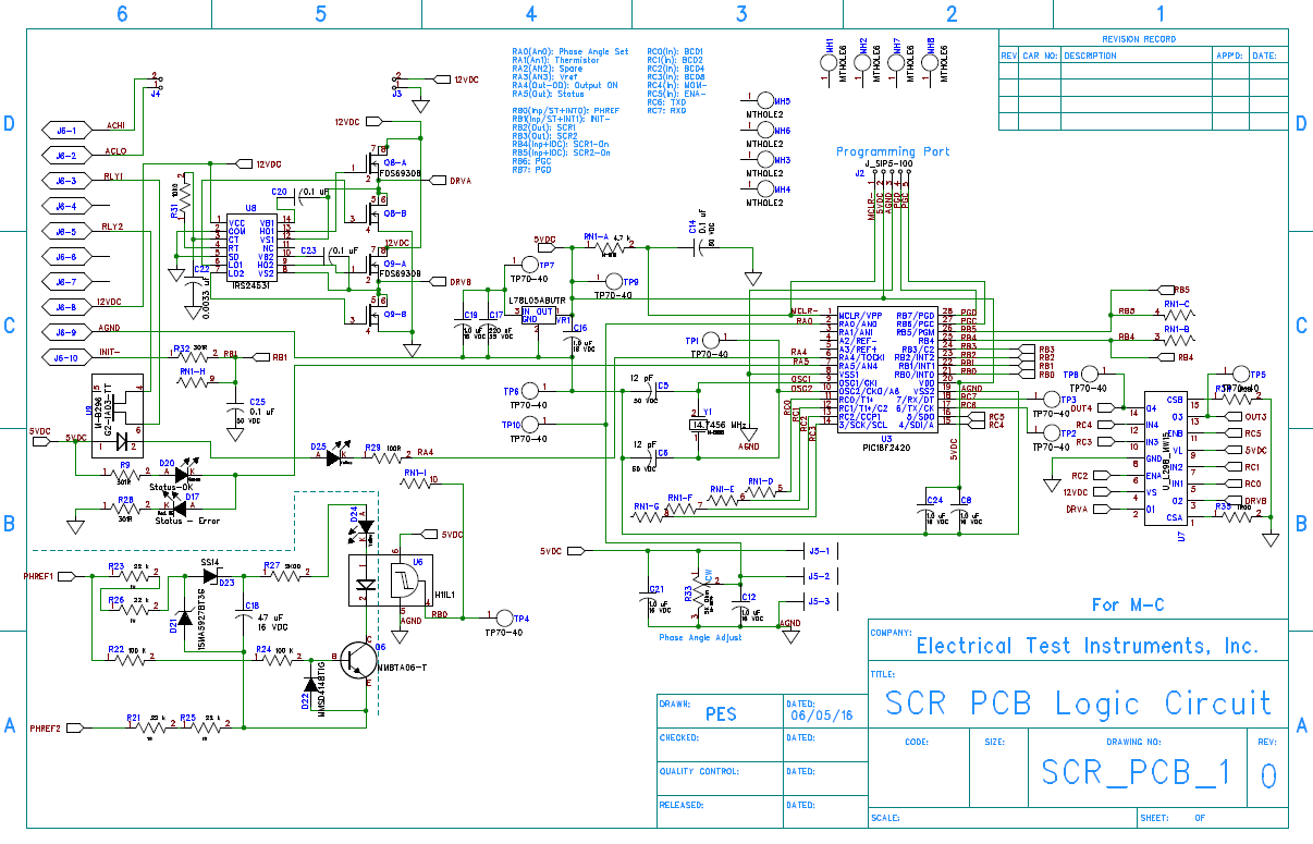 SCR_PCB_1_Schematic 1 simple and cheap diy dc dc converter for gate drive diy electric Motor Wiring Diagram at nearapp.co