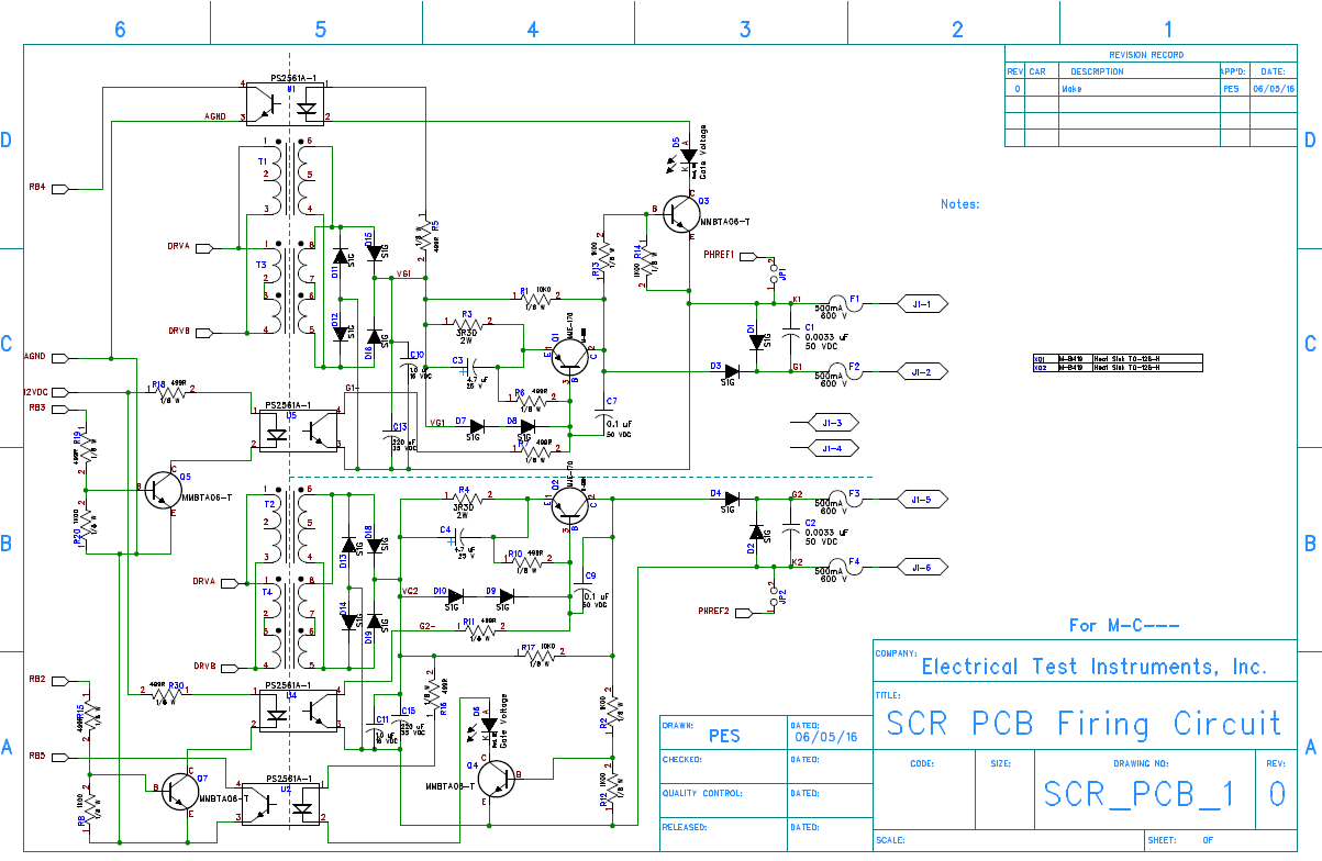 Simple And Cheap Diy Dc Converter For Gate Drive Electric Scr Triggering Circuit Page 2 Transformers Power Supplies Circuitry